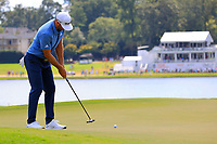 5th September 2021: Atlanta, Georgia, USA;  Dustin Johnson (USA) putts on the 8th green during the 4th and final round of the TOUR Championship  at the East Lake Club in Atlanta, Georgia.