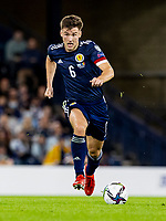 4th September 2021; Hampden Park, Glasgow, Scotland: FIFA World Cup 2022 qualification football, Scotland versus Moldova: Kieran Tierney of Scotland