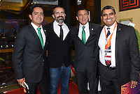 Mexico officials. Official Draw for the FIFA U 20 Football World Cup, New Zealand 2015. Sky City, Auckland. Tuesday 10 February 2015. Copyright photo: Andrew Cornaga / www.photosport.co.nz