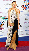 NEW YORK CITY, NY, USA - JUNE 02: Dree Hemingway arrives at the 2014 CFDA Fashion Awards held at Alice Tully Hall, Lincoln Center on June 2, 2014 in New York City, New York, United States. (Photo by Celebrity Monitor)