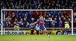 Greg Tansey celebrates his goal