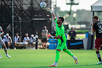 LAKE BUENA VISTA, FL - JULY 13: Quentin Westberg #16 of Toronto FC throws the ball during a game between D.C. United and Toronto FC at Wide World of Sports on July 13, 2020 in Lake Buena Vista, Florida.