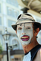 French Quarter mime, 2000
