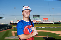 Ethan Pack during the Under Armour All-America Tournament powered by Baseball Factory on January 17, 2020 at Sloan Park in Mesa, Arizona.  (Zachary Lucy/Four Seam Images)