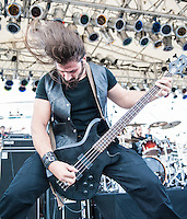 Rotting Christ on the 2012 Barge to Hell.