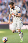 Nacho Fernandez (c) of Real Madrid in action during their La Liga match between Real Madrid and Deportivo Alaves at the Santiago Bernabeu Stadium on 02 April 2017 in Madrid, Spain. Photo by Diego Gonzalez Souto / Power Sport Images