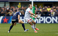 11 January 2020; Ulster's Will Addison during the Heineken Champions Cup Pool 3 Round 5 match between ASM Clermont Auvergne and Ulster at Stade Marcel-Michelin in Clermont-Ferrand, France. Photo by John Dickson/DICKSONDIGITAL