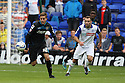Robin Shroot of Stevenage sets up an attack<br />  - Tranmere Rovers v Stevenage - Sky Bet League One - Prenton Park, Birkenhead - 7th September 2013. <br /> © Kevin Coleman 2013