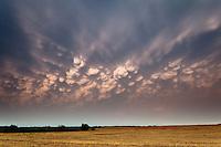 Mammatus Clouds in Paducah, TX, May 30, 2012