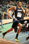 Zavon Watkins wins the boys mile at the first U.S. Open on January 29, 2012 at Madison Square Garden in New York, New York.  (Bob Mayberger/Eclipse Sportswire)