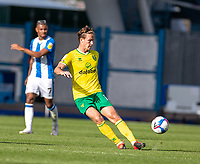 12th September 2020 The John Smiths Stadium, Huddersfield, Yorkshire, England; English Championship Football, Huddersfield Town versus Norwich City;  Kieran Dowell of Norwich City clips a ball forward
