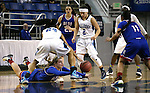 Reno's Mallory McGwire scrambles for a loose ball against Centennial during the NIAA Division I state basketball tournament in Reno, Nev. on Thursday, Feb. 25, 2016. Centennial won 82-53. Cathleen Allison/Las Vegas Review-Journal