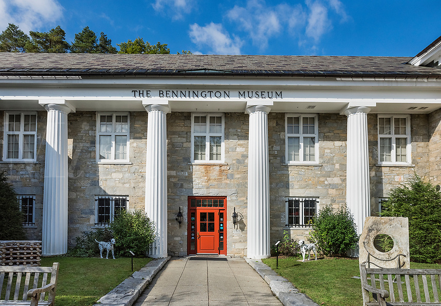 The Bennington Museum, Vermont, USA.