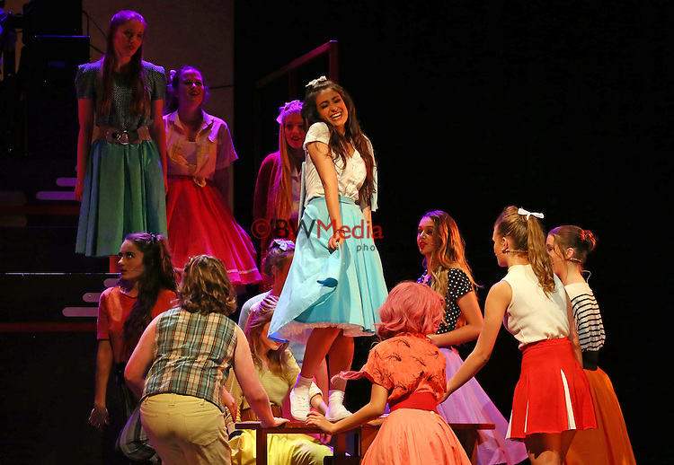 Glee Club 2015, Grease, Auckland, March 2015. Photo: Simon Watts/ www.bwmedia.co.nz <br /> All images © BWMedia.co.nz