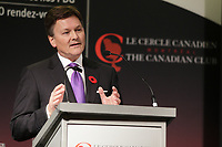 Kelvin Dushnisky, President of Barrick Gold Corporation, deliver a speech to the Canadian Club of Montreal, Monday, November 9, 2015<br /> <br /> As the gold mining industry grapples with one of the most challenging metal price environments in recent memory, Barrick Gold Corporation is responding by fundamentally changing the way it operates. Barrick President Kelvin Dushnisky discuss how the company is transitioning to a decentralized business model and reclaiming the qualities that made it the world's leading gold producer. Known historically for being a lean and nimble company that thinks outside the box while consistently generating wealth for its shareholders, Barrick is well on its way to becoming that company again. Please join us on November 9 to find out how one of Canada's most iconic company's is remaking itself.<br /> <br /> PHOTO : Pierre Roussel - Agence Quebec Presse