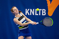 Amstelveen, Netherlands, 14  December, 2020, National Tennis Center, NTC, NK Indoor, National  Indoor Tennis Championships, Qualifying:  Chanel Janssen (NED) <br /> Photo: Henk Koster/tennisimages.com