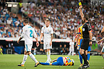Real Madrid's Daniel Carvajal during La Liga match between Real Madrid and Valencia CF at Santiago Bernabeu Stadium in Madrid, Spain August 27, 2017. (ALTERPHOTOS/Borja B.Hojas)