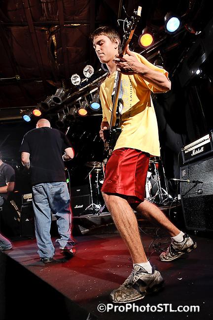Plague & Terror in concert at Pop's on Sept 12, 2010.