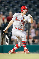 July 13, 2009:  Catcher Charlie Cutler of the Palm Beach Cardinals during a game at Hammond Stadium in Ft. Myers, FL.  Palm Beach is the Florida State League High-A affiliate of the St. Louis Cardinals.  Photo By Mike Janes/Four Seam Images