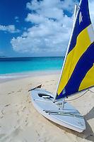 Sunfish Sailboat, Buck Island. U.S. Virgin Islands