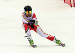 15/03/2014. Canadian skier Kirk Schornstein competes in the mens's giant slalom standing at the Sochi 2014 Paralympic Winter Games in Sochi Russia. Photo(Scott Grant/Canadian Paralympic Committee)