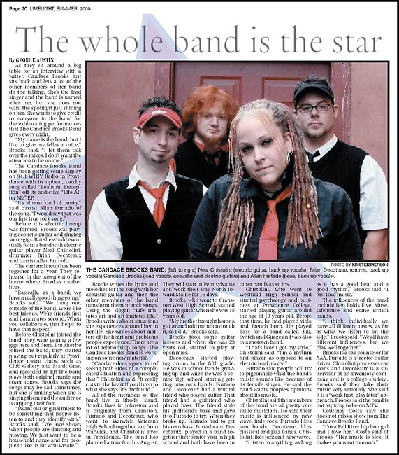 Limelight Magazine - Summer 2008