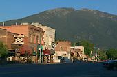 Hamilton with Bitterroot mountains