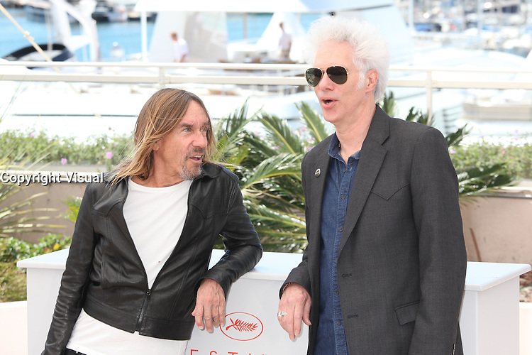IGGY POP AND DIRECTOR JIM JARMUSCH - PHOTOCALL OF THE FILM 'GIMME DANGER' AT THE 69TH FESTIVAL OF CANNES 2016