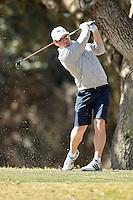 SAN ANTONIO, TX - FEBRUARY 9, 2016: The UTSA Oak Hills Invitational Men's Golf Tournament at Oak Hills Country Club. (Photo by Jeff Huehn)