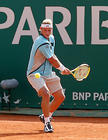 19-4-06, Monaco, Tennis,Master Series, Nalbandian in action against Seppi