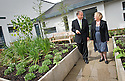 20/08/2010   Copyright  Pic : James Stewart.005_mental_health_unit  .::  NHS FORTH VALLEY ROYAL HOSPITAL :: NHS TRUST CHAIRMAN IAN MULLEN AND GENERAL MANAGER KATHY O'NEILL TAKE A WALK THROUGH ONE OF THE MANY GARDENS FOR PATIENTS AT THE NEW MENTAL HEALTH UNIT ::