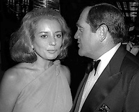 Barbara Walters Alan King 1980<br /> Photo By Adam Scull/PHOTOlink.net