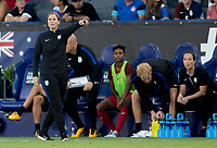 Carson, CA - Thursday August 03, 2017: Jill Ellis during a 2017 Tournament of Nations match between the women's national teams of the United States (USA) and Japan (JAP) at StubHub Center.
