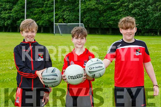 Harry O'Connor Morgan O'Brien Mikey Moroney  getting back into training mode in Fossa GAA