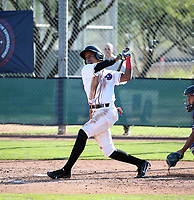 Yoneidy Ramirez participates in the MLB International Showcase at Salt River Fields on November 12-14, 2019 in Scottsdale, Arizona (Bill Mitchell)