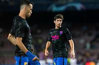 14th September 2021: Nou Camp, Barcelona, Spain: ECL Champions League football, FC Barcelona versus Bayern Munich: Sergio Roberto during warm up