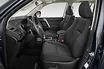 Front seat view of 2021 Toyota Land-Cruiser-150 Country 5 Door SUV Front Seat  car photos