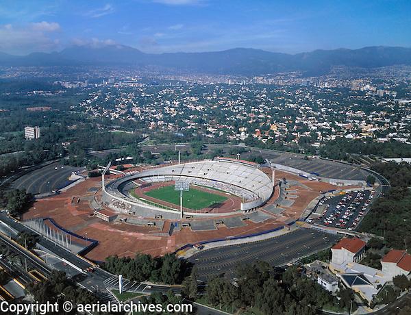 aerial photograph Olympic stadium University Nacional Autonoma Mexico (UNAM) Mexico City | fotografía aérea Estadio Olímpico Universidad Nacional Autónoma de México, Ciudad de México