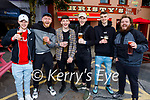 Enjoying a few drinks at Christys in Listowel on Bank Holiday Monday, l to r: Christian Elbell, James Mahoney, Jacob Lucey, Dylan Kelly, Robert O'Brien and Roger Lawson.