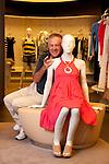 Giuseppe Stefanel fotografato nel negozio di Corso Vercelli<br /> Milano, 17 giugno 2011