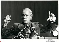Rene Levesque, circa 1979