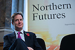 © Joel Goodman - 07973 332324 . NO SYNDICATION PERMITTED . 06/11/2014 . Leeds , UK . The Deputy Prime Minister , NICK CLEGG , at the Northern Futures Summit in Leeds this morning (Thursday 6th November 2014) .  . Photo credit : Joel Goodman