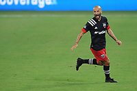 WASHINGTON, DC - AUGUST 25: Federico Higuain #2 of D.C. United during a game between New England Revolution and D.C. United at Audi Field on August 25, 2020 in Washington, DC.
