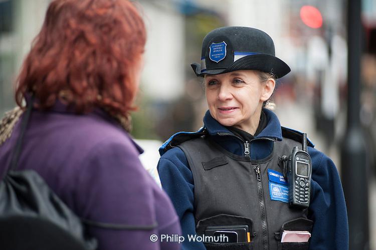 Metropolitan Police Community Support Officers, Paddington.