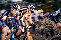 Wout van Aert (BEL/Jumbo-Visma) sprinting away from the start grid<br /> <br /> 2021 GP Sven Nys in Baal (BEL)<br /> <br /> ©kramon