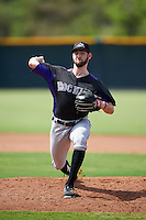 Colorado Rockies pitcher Brandon Gold (65) during an Instructional League game against the San Francisco Giants on October 8, 2016 at the Giants Baseball Complex in Scottsdale, Arizona.  (Mike Janes/Four Seam Images)