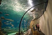 Aquarium an der Moll d'Espanya del Port Vell, Barcelona, Spanien