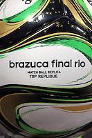 The Brazuca final football