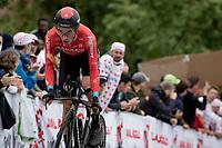 Pello Bilbao (ESP/Bahrain - Victorious)<br /> <br /> Stage 5 (ITT): Time Trial from Changé to Laval Espace Mayenne (27.2km)<br /> 108th Tour de France 2021 (2.UWT)<br /> <br /> ©kramon