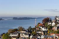Elbe bei Blankenese, Hamburg, Deutschland